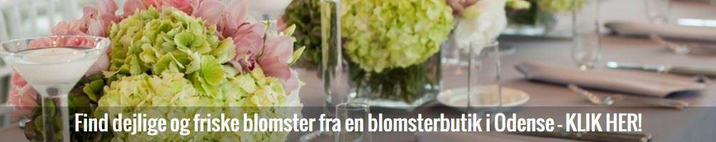 Find blomsterbutik i Odense på Fyn her